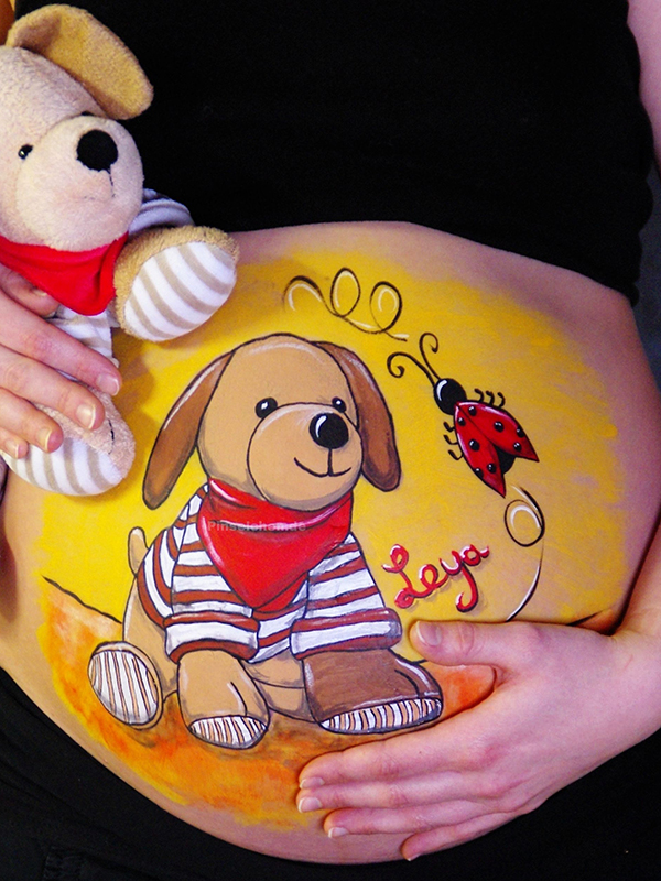 Bellypainting 3